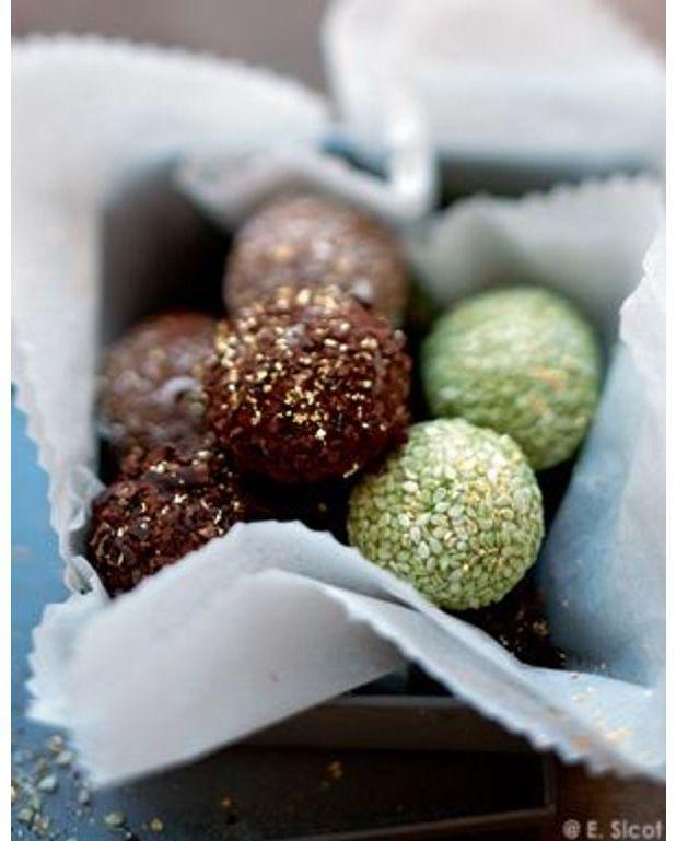 truffes au chocolat chocolat noir au gru de cacao pour 4. Black Bedroom Furniture Sets. Home Design Ideas