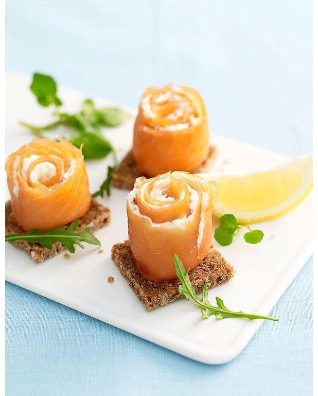 cornets de saumon fum 233 fromage frais mangue et kiwi pour 4 personnes recettes