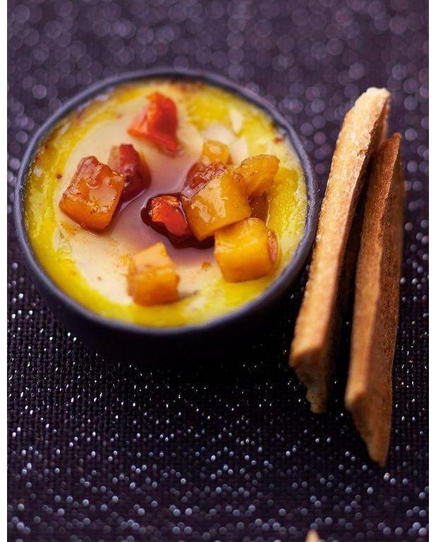 Foie gras chutney de mangue et ananas pour 6 personnes for Chutney de pommes pour foie gras