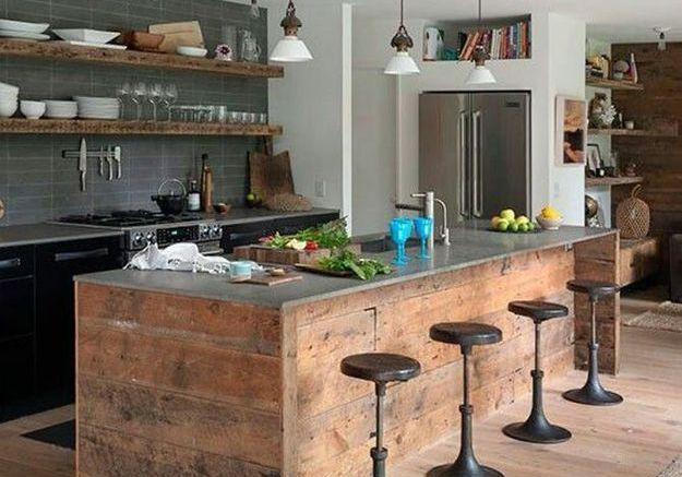 Beliebt Tendance cuisine en bois - Elle Décoration VK02