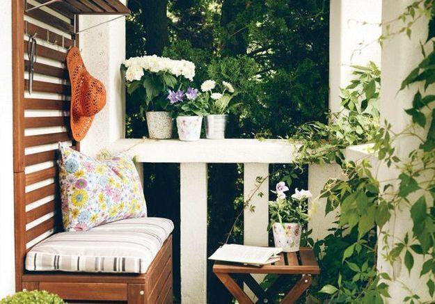 4 styles pour un balcon elle d coration for Deco exterieur balcon