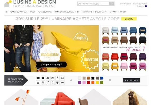 D co pas ch re tous les sites de d co prix d 39 usine for Site deco