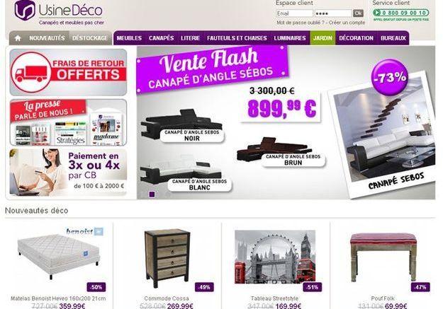 Usine Déco.com : le spécialiste du mobilier contemporain