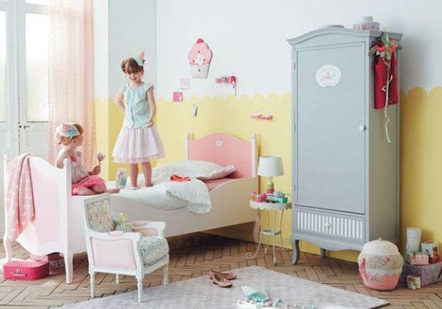 Une chambre d'enfants pour les gourmands