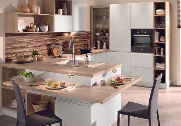 Amenager une cuisine de 9m2 maison design for Cuisine amenagee 9m2