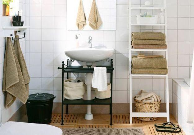Comment relooker sa salle de bains sans se ruiner elle d coration - Comment amenager sa salle de bain ...