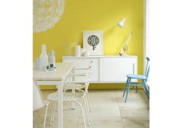 Utiliser la couleur dans son int rieur osez la couleur for Salle a manger jaune moutarde