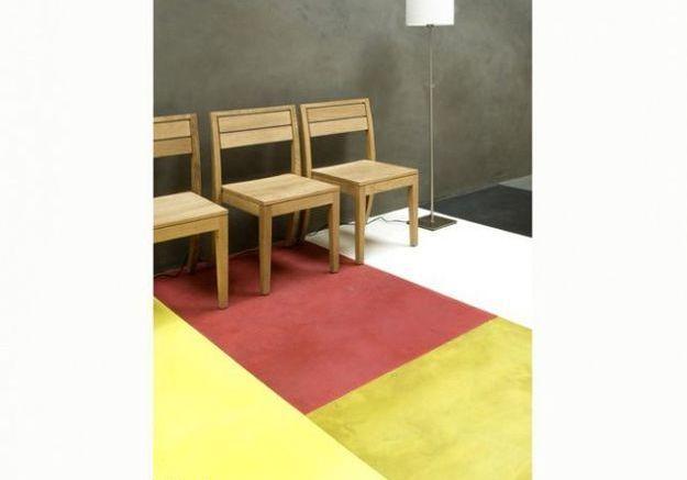 toutes nos astuces pour peindre son sol en b ton elle d coration. Black Bedroom Furniture Sets. Home Design Ideas