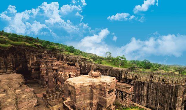 Grottes d'Ellora, Maharashtra