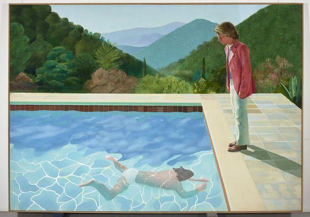 On plonge dans l'expo consacrée à David Hockney