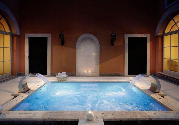 Ellebeautyspot le spa my blend by clarins de la villa for Villa agrippina rome