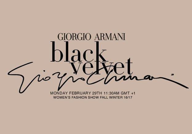 Fashion Week : suivez le défilé Giorgio Armani en direct à 11h30