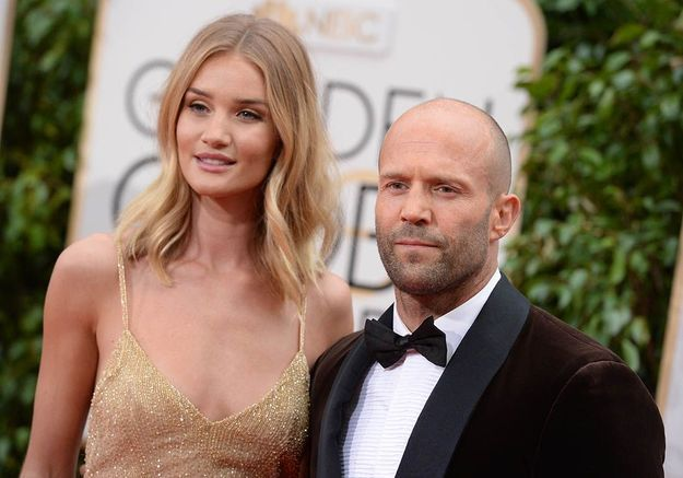 Rosie Huntington-Whiteley et Jason Statham sont fiancés