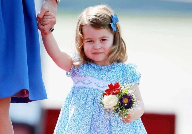 Selon le prince William, Charlotte est une petite fille au caractère bien trempé !