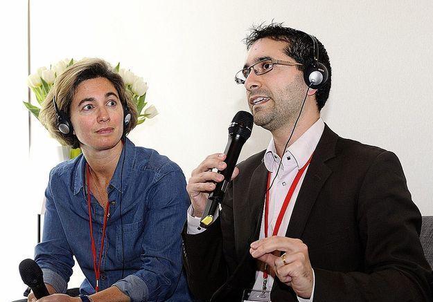 Julia Dion, ELLE, et Cyril Capel, spécialiste du recrutement