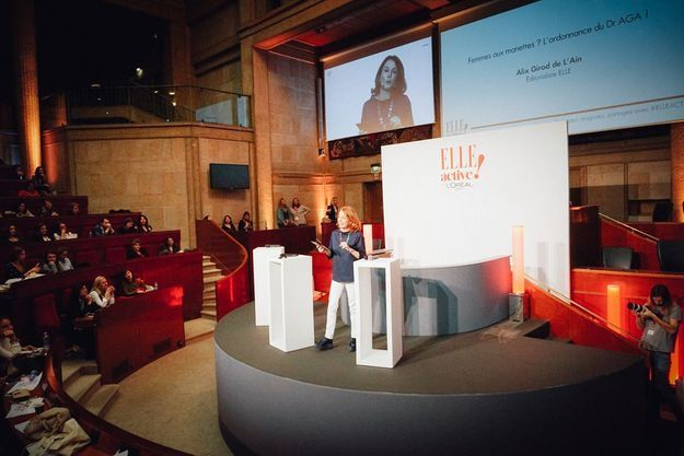 Alix Girod de l'Ain on stage