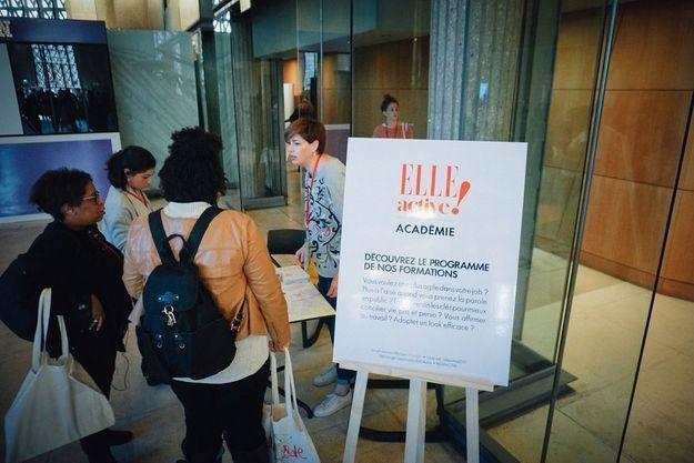 Venez découvrir les formations de la ELLE Active Académie !