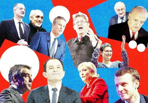 Présidentielle 2017 - La dernière heure, en direct des QG