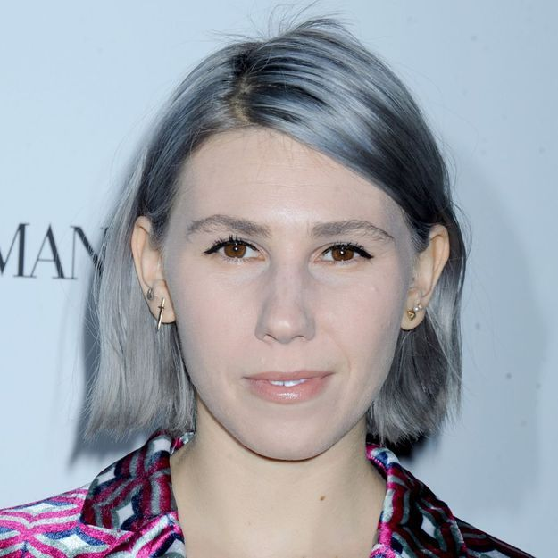 zosia mamet de girls des cheveux gris 26 ans elle. Black Bedroom Furniture Sets. Home Design Ideas