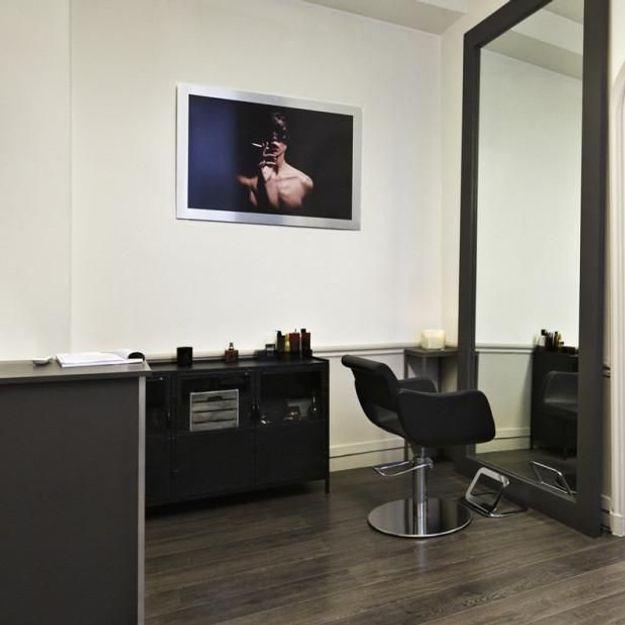 On aime : le salon de coiffure Des Garçons - Elle