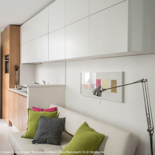 deco amenagement studio. Black Bedroom Furniture Sets. Home Design Ideas