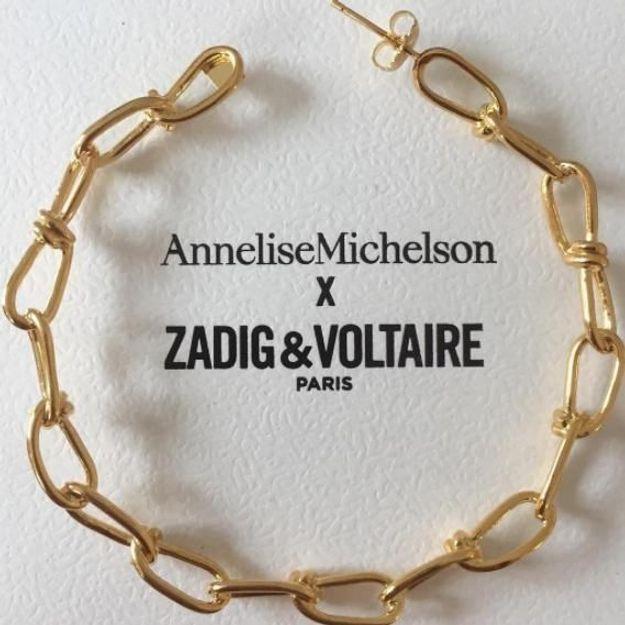 #ELLEfashioncrush : les bijoux irrésistibles d'Annelise Michelson pour Zadig & Voltaire