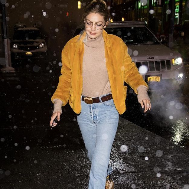 Monday inspiration : le look jaune de Gigi Hadid