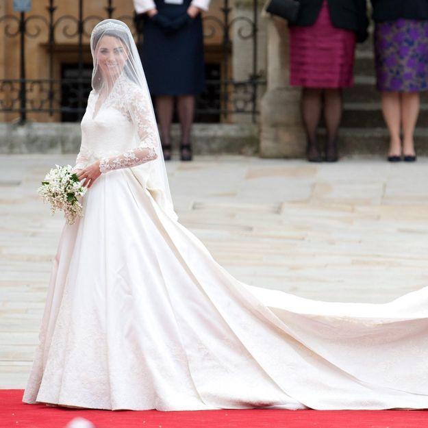 On peut s\u0027offrir la robe de mariée de Kate Middleton à prix mini