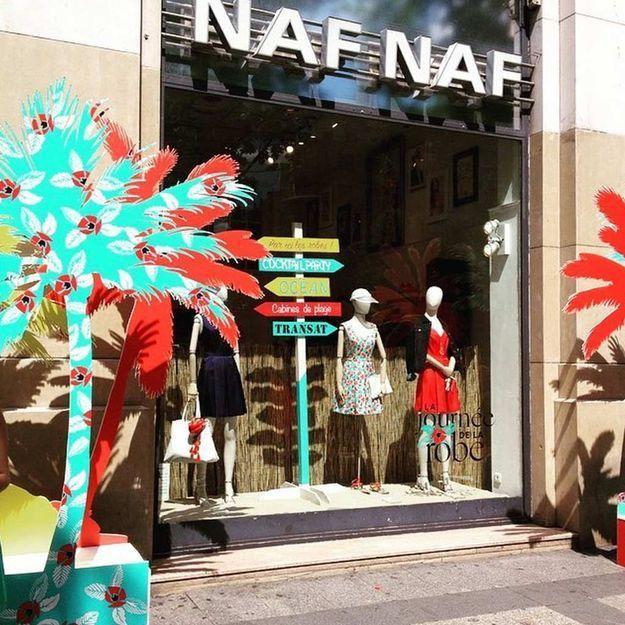 On y était ! La Journée de la Robe chez NAF NAF Champs-Élysées !