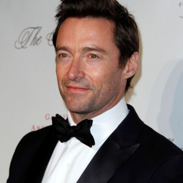 hugh jackman atteint par un cancer de la peau elle. Black Bedroom Furniture Sets. Home Design Ideas