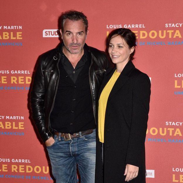 Jean dujardin et nathalie p chalat sortie amoureuse l for La copine de jean dujardin