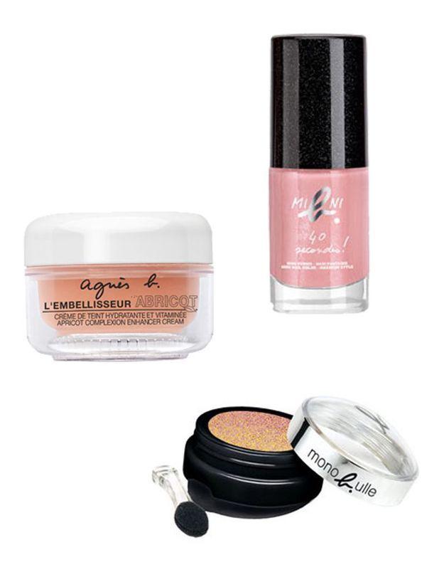 Le maquillage Agnès b. débarque chez Monoprix
