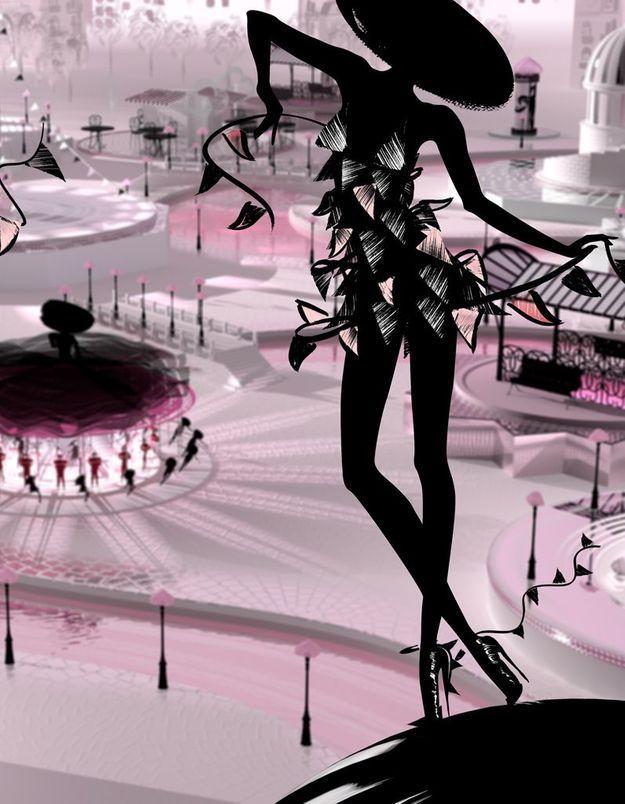 Image pub la petite robe noire