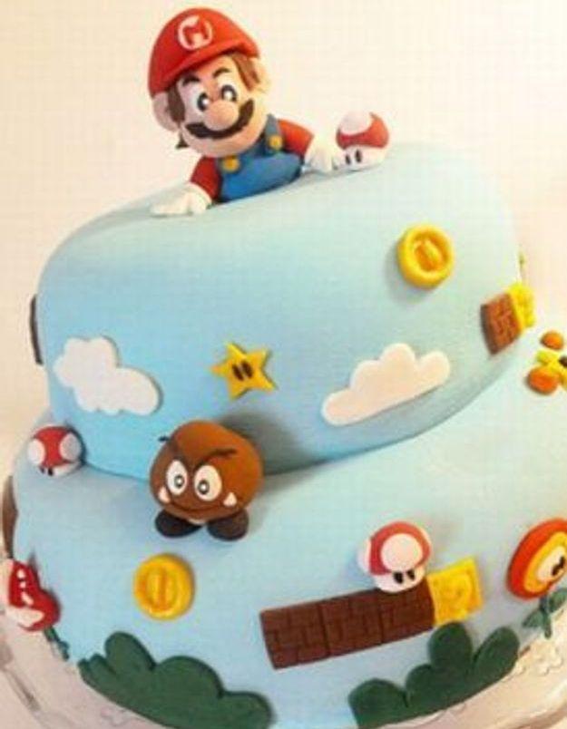 Pâtisserie, gourmandise et Mario Bros