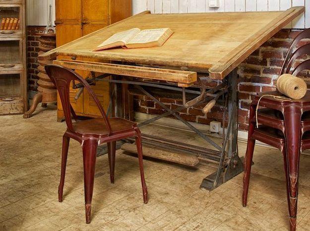 la table d architecte elle d coration. Black Bedroom Furniture Sets. Home Design Ideas