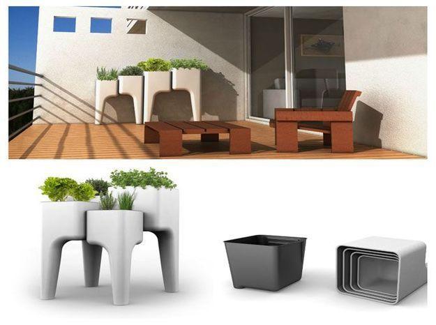Hurbz, le potager urbain design et malin