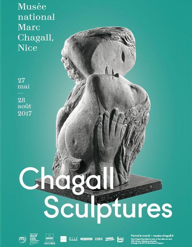 Gagnez vos places pour l'expo   « Chagall Sculptures » au musée national Marc Chagall de Nice
