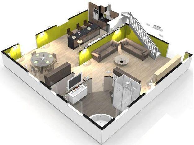 Homebyme un super site pour cr er sa maison en 3d elle d coration - Concevoir sa maison en 3d ...