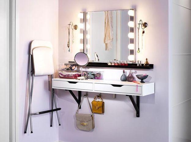 un coin beaut pour tre la plus belle elle d coration. Black Bedroom Furniture Sets. Home Design Ideas