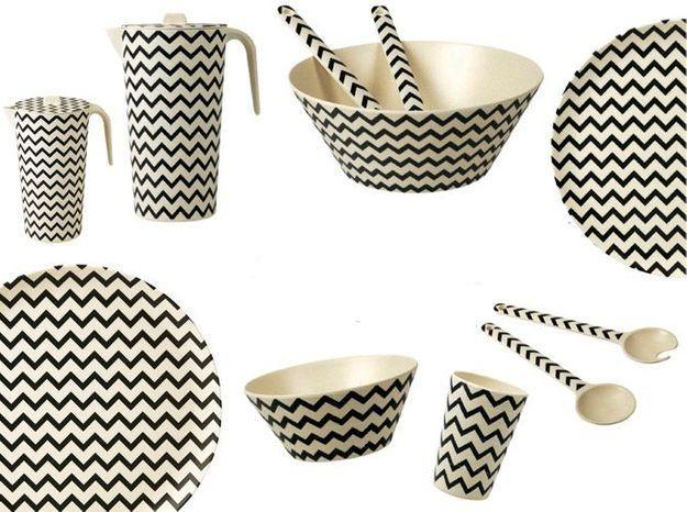 l 39 objet d co du jour une vaisselle colo en fibres de. Black Bedroom Furniture Sets. Home Design Ideas
