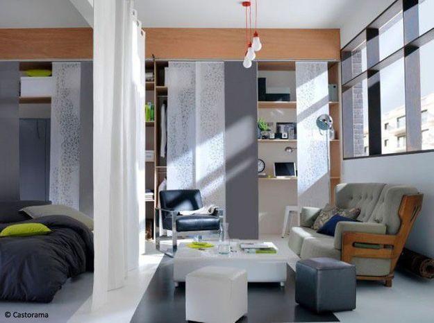 am nager son premier studio suivez le guide elle d coration. Black Bedroom Furniture Sets. Home Design Ideas