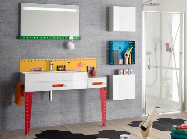 L'inspiration du jour : des meubles de salle de bains pour enfants ...