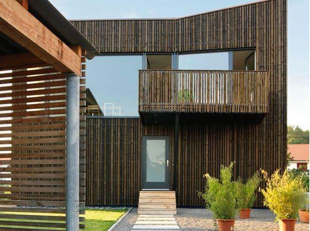 les avantages d 39 un bardage en bois elle d coration. Black Bedroom Furniture Sets. Home Design Ideas