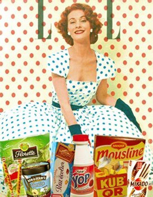 Cuisine r tro elle table - Photo cuisine retro ...