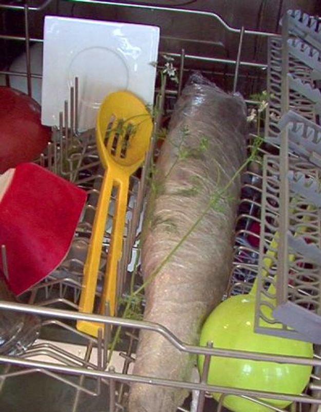 Et si on cuisait le saumon au lave-vaisselle !