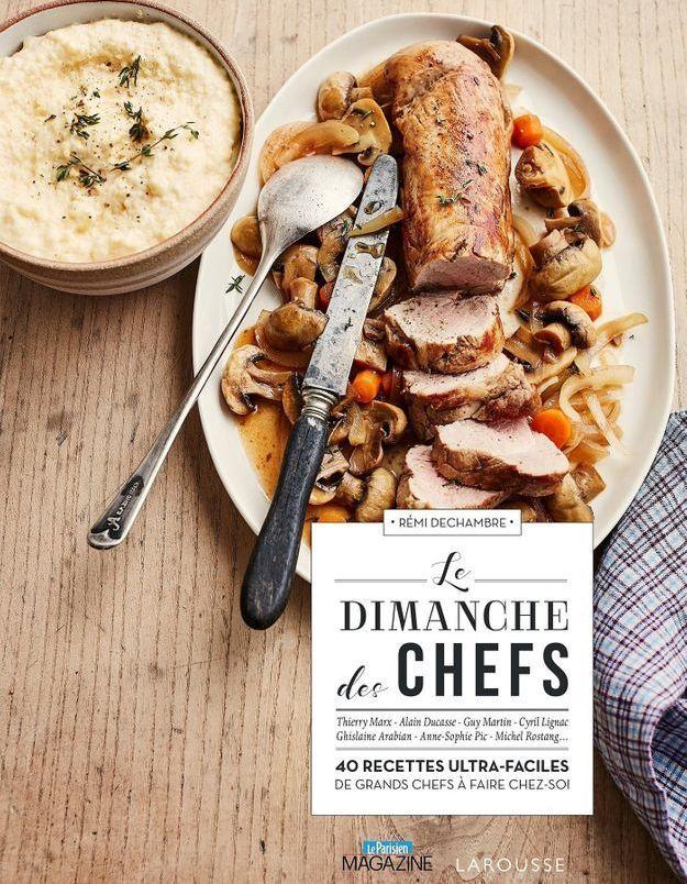 le dimanche des chefs le livre de cuisine pour des brunchs gastro cool elle. Black Bedroom Furniture Sets. Home Design Ideas