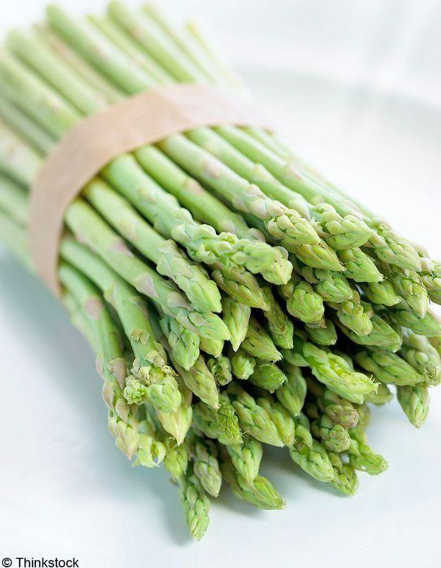 Zoom nutrition : l'asperge riche en fibres - Elle