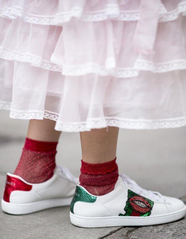 Le gimmick mode #4 : porter des chaussettes avec tout
