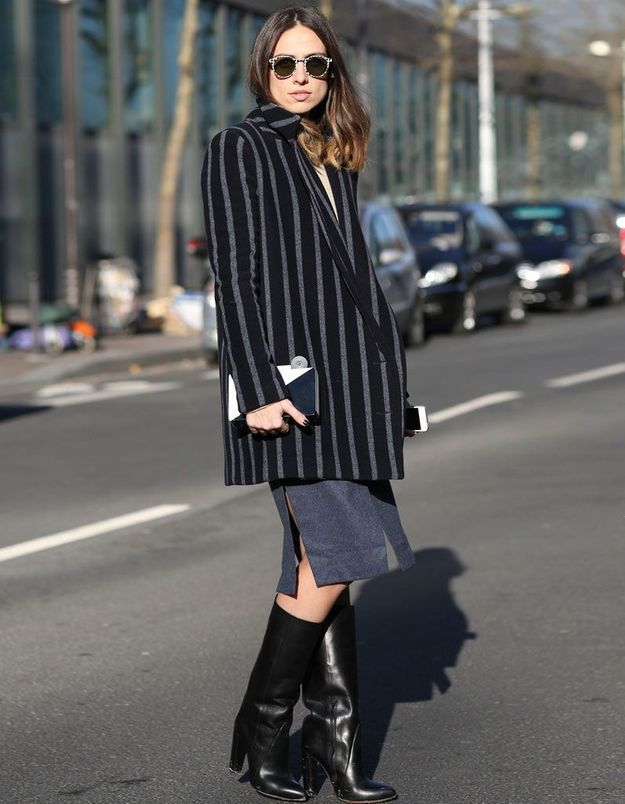 Comment porter une veste grise femme