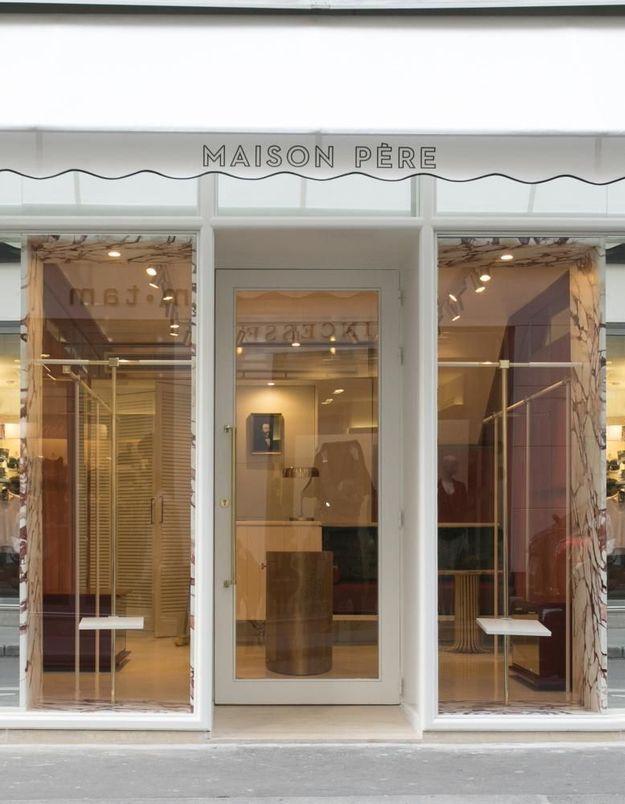 L Instant Mode Maison P Re Ouvre Sa Premi Re Boutique Elle